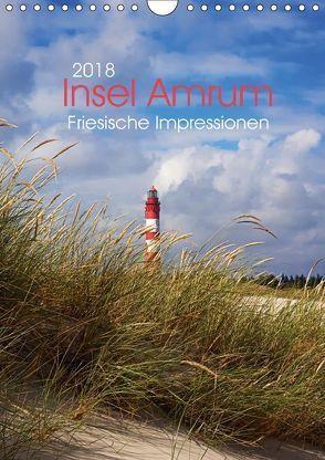 Insel Amrum – Friesische Impressionen (Wandkalender 2018 DIN A4 hoch) von DESIGN Photo + PhotoArt,  AD, Dölling,  Angela