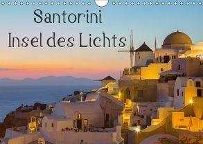Insel des Lichts – Santorini (Wandkalender 2018 DIN A4 quer) von Klinder,  Thomas