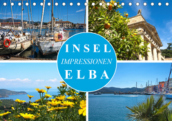 Insel Elba Impressionen (Tischkalender 2020 DIN A5 quer) von J. Richtsteig,  Walter