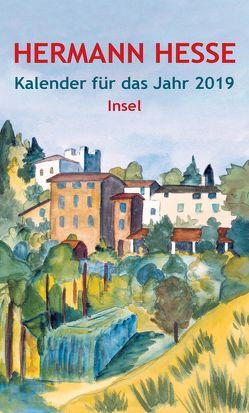 Insel-Kalender für das Jahr 2019 von Hesse,  Hermann, Michels,  Volker