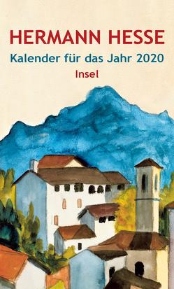 Insel-Kalender für das Jahr 2020 von Hesse,  Hermann, Michels,  Volker