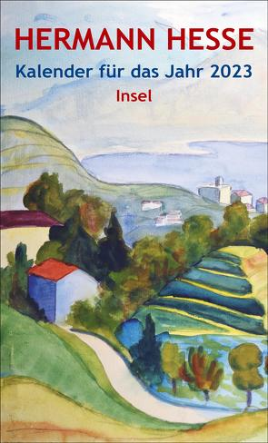 Insel-Kalender für das Jahr 2023 von Hesse,  Hermann, Michels,  Volker