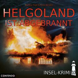 Insel-Krimi 10: Helgoland ist abgebrannt von Reuber,  Timo, Topf,  Markus