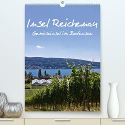 Insel Reichenau – Gemüseinsel im Bodensee (Premium, hochwertiger DIN A2 Wandkalender 2021, Kunstdruck in Hochglanz) von Ergler,  Anja