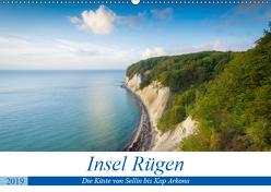 Insel Rügen – Die Küste von Sellin bis Kap Arkona (Wandkalender 2019 DIN A2 quer) von Wasilewski,  Martin