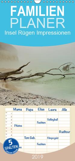Insel Rügen Impressionen – Familienplaner hoch (Wandkalender 2019 , 21 cm x 45 cm, hoch) von Schmidt,  Sabine
