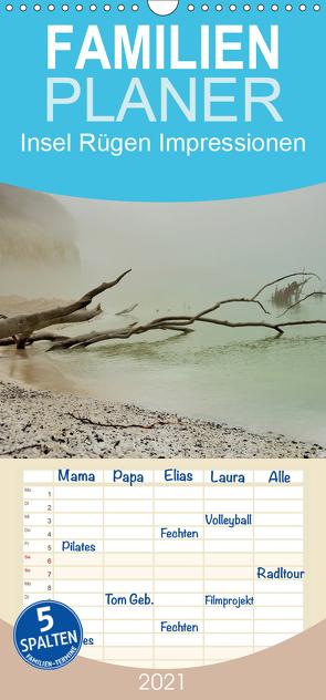 Insel Rügen Impressionen – Familienplaner hoch (Wandkalender 2021 , 21 cm x 45 cm, hoch) von Schmidt,  Sabine