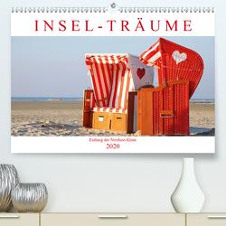 Insel-Träume: Entlang der Nordsee-Küste (Premium, hochwertiger DIN A2 Wandkalender 2020, Kunstdruck in Hochglanz) von CALVENDO