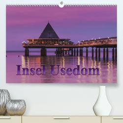 Insel Usedom (Premium, hochwertiger DIN A2 Wandkalender 2021, Kunstdruck in Hochglanz) von Kirsch,  Gunter