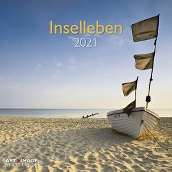 Inselleben 2021 – Wand-Kalender – Broschüren-Kalender – A&I – 30×30 – 30×60 geöffnet