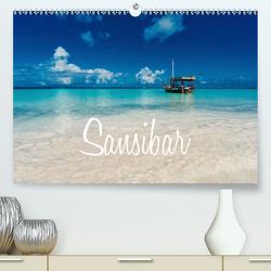 Inselparadies Sansibar (Premium, hochwertiger DIN A2 Wandkalender 2021, Kunstdruck in Hochglanz) von Becker,  Stefan