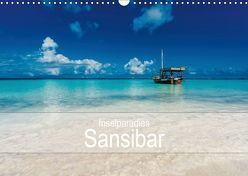 Inselparadies Sansibar (Wandkalender 2019 DIN A3 quer) von Becker,  Stefan