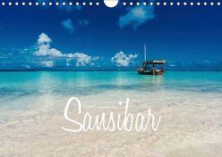 Inselparadies Sansibar (Wandkalender 2019 DIN A4 quer) von Becker,  Stefan