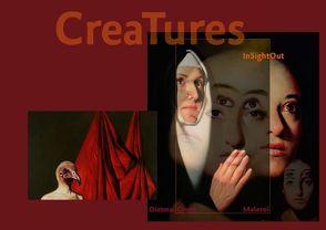 InSightOut — CreaTures — Dietmar Gross Malerei (Posterbuch DIN A2 quer) von Weber,  Andreas