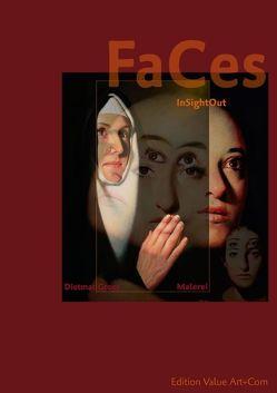 InSightOut — Faces — Dietmar Gross Malerei (Posterbuch DIN A2 hoch) von Weber,  Andreas