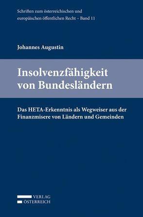 Insolvenzfähigkeit von Bundesländern von Augustin,  Johannes