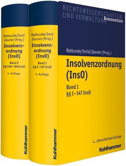 Insolvenzordnung (InsO) von Rattunde,  Rolf, Smid,  Stefan, Zeuner,  Mark
