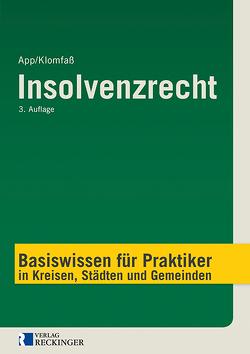 Insolvenzrecht von App,  Michael, Klomfaß,  Ralf