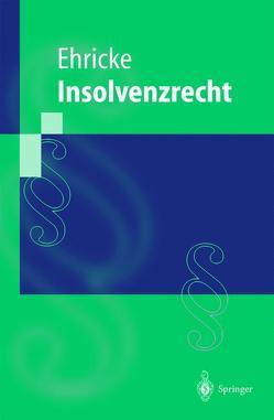 Insolvenzrecht von Ehricke,  Ulrich