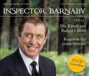Inspector Barnaby: Die Rätsel von Badger's Drift und Requiem für einen Mörder (Sammelbox) von Arnold,  Frank, Graham,  Caroline