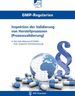 Inspektion der Validierung von Herstellprozessen (Prozessvalidierung)