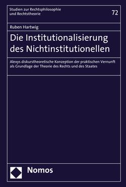 Institutionalisierung der Vernunft von Hartwig,  Ruben