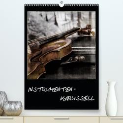 INSTRUMENTEN – KARUSSELL (Premium, hochwertiger DIN A2 Wandkalender 2021, Kunstdruck in Hochglanz) von aplowski,  andrea