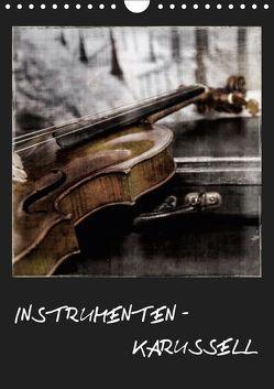 INSTRUMENTEN – KARUSSELL (Wandkalender 2019 DIN A4 hoch) von aplowski,  andrea