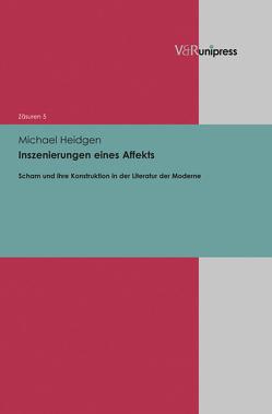 Inszenierungen eines Affekts von Heidgen,  Michael