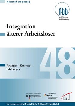 Integration älterer Arbeitsloser von Loebe,  Herbert, Severing,  Eckart