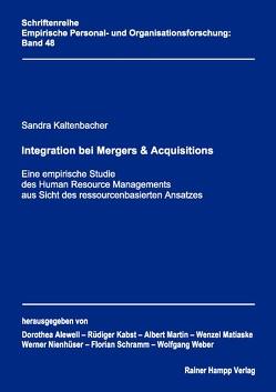 Integration bei Mergers & Acquisitions von Kaltenbacher,  Sandra