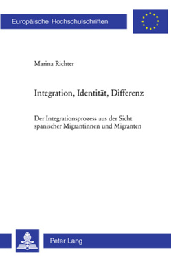 Integration, Identität, Differenz von Richter,  Marina