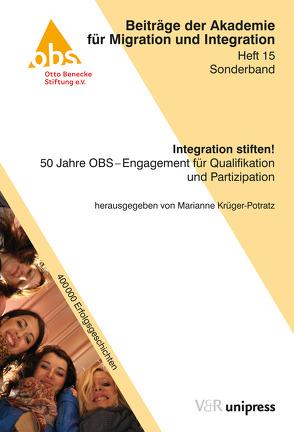 Integration stiften! von Krüger-Potratz,  Marianne