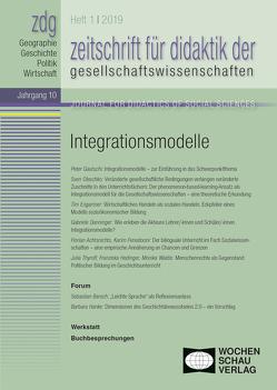 Integrationsmodelle von Gautschi,  Peter, Rhode‐Jüchtern,  Tilman, Sander,  Wolfgang, Weber,  Birgit