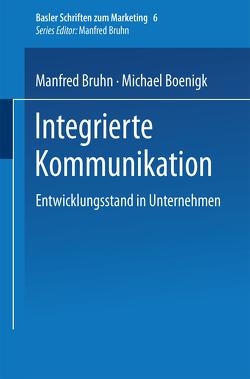 Integrierte Kommunikation von Boenigk,  Michael, Bruhn,  Manfred
