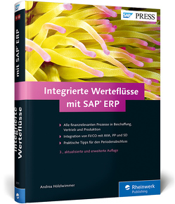 Integrierte Werteflüsse mit SAP ERP von Hölzlwimmer,  Andrea