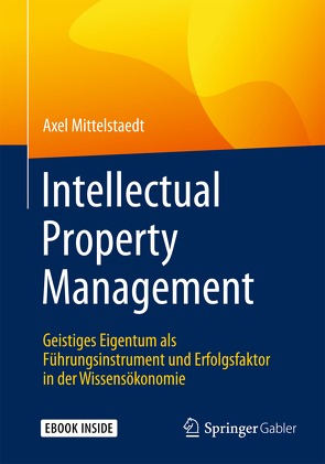 Intellectual Property Management von Mittelstaedt,  Axel
