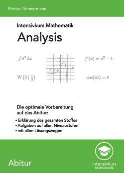 Intensivkurs Mathematik – Analysis von Timmermann,  Florian