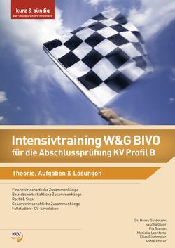 Intensivtraining W&G BIVO für die Abschlussprüfung KV Profil B von Birchmeier,  Elias, Brunner,  Matthias, Gloor,  Sascha, Goldmann,  Henry, Leonforte,  Mariella, Pfister,  André, Stamm,  Pia