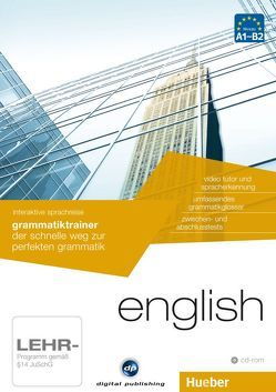 interaktive sprachreise grammatiktrainer english von Hueber Verlag GmbH & Co. KG