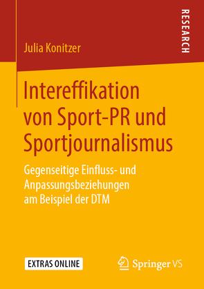 Intereffikation von Sport-PR und Sportjournalismus von Konitzer,  Julia