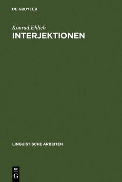 Interjektionen von Ehlich,  Konrad