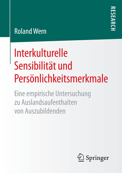 Interkulturelle Sensibilität und Persönlichkeitsmerkmale von Wern,  Roland