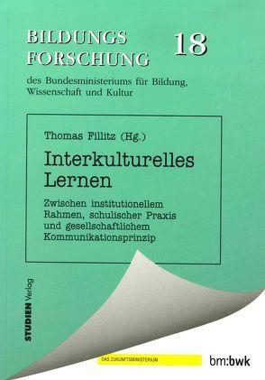 Interkulturelles Lernen von Fillitz,  Thomas
