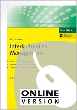 Interkulturelles Management von Blom,  Herman, Meier,  Harald