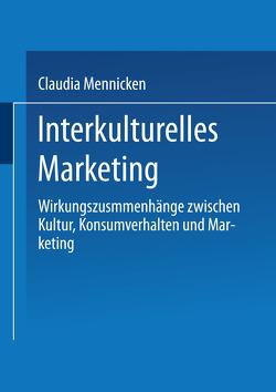 Interkulturelles Marketing von Mennicken,  Claudia