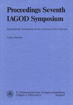 International Association on the Genesis of Ore Deposits, 7. Quadrennial Symposium von Zachrisson,  Ebbe