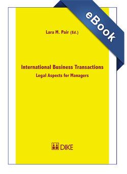 International Business Transactions von Pair,  Lara M.