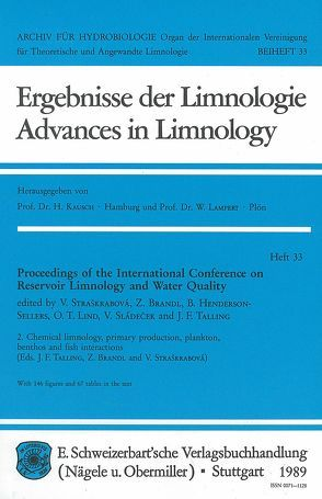 International Conference on Reservoir Limnology and Water Quality. Proceedings / Chemical limnology, primary production, plankton, benthos and fish interactions von Brandl,  Z, Straškrabová,  V, Talling,  J F
