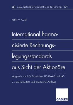 International harmonisierte Rechnungslegungsstandards aus Sicht der Aktionäre von Auer,  Kurt V.